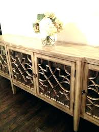 Buffet Mirrored Cabinet Black Sideboards And Buffets