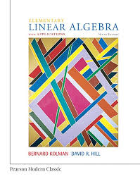 Elementary Linear Algebra With Applications 9th Edition Solutions Manual Kolman Hill INSTANT DOWNLOAD Free Download Sample
