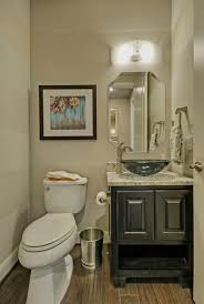 Powder Room s Burrows Cabinets central Texas builder