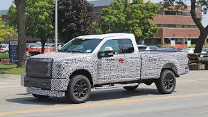 100 Ford Chief Truck 2020 Super Duty Spied In A Construction Zone