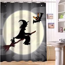 Nightmare Before Christmas Bathroom Decor by Online Get Cheap Halloween Shower Curtain Aliexpress Com