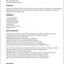 School Guidance Counselor Resume 1080 Player