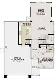 Ryland Homes Floor Plans Arizona by Ryland Homes The Vista Plan Candelas Floorplans Pinterest