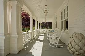 san francisco slate statues porch traditional with lanterns deck