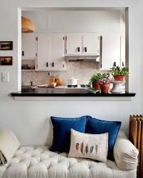 Magnificent Ideas Kitchen Window To Dining Room A Section Of Wall Between The And Living Was