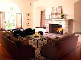 how to decorate living room with fireplace view in gallery