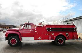 100 Ford Fire Truck 1965 American Apparatus Pumper Used Details