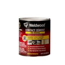 Super Glue On Carpet by Dap Weldwood 32 Fl Oz Original Contact Cement 00272 The Home Depot