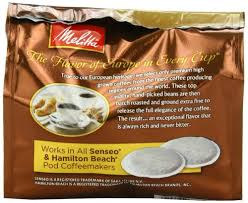 Melitta Coffee Pods For Senseo And Hamilton Beach Pod Brewers Medium Roast 444 Oz Bags Pack Of 6 18 Count Each