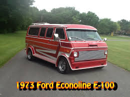 1973 Ford E Series Van
