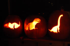Owl Pumpkin Carving Templates Easy by Field Staiton Dinosaurs Spooky Pumpkin Logos Dinos After Dark