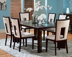 dining room amazing 6 dining room chairs bench style dining