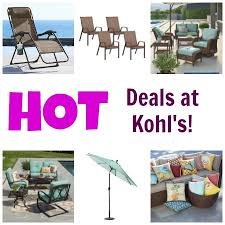 kohl s tons of deals on patio furniture and more coupon closet
