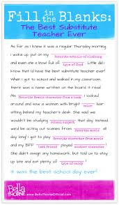 Halloween Mad Libs Esl by Fill In The Blanks Silly Story Mad Libs Fun Stuff Pinterest