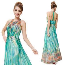 floral halter evening dress chic maxi dresses