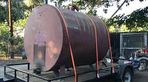 100 Diesel Fuel Tanks For Trucks Cutting Into A 1000 Gallon Diesel Fuel Tank Part 1 Of BBQ Build