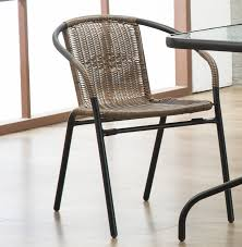 Zipcode Design Pineville Rattan Patio Dining Chair & Reviews   Wayfair Set Of Six Leatherbound Rattan Ding Chairs By Mcguire Eight Brge Mogsen For Sale At 1stdibs Vintage Bentwood Of 3 Stol Kamnik Cane And Rattan Fniture Five Shop Provence Oh0589 Outdoor Patio Wicker With Arms Teva Bora 2 Verona Pair Garden Fniture Brown Muestra Natural Teak Wood Woven Chair Zin Home Hospality Kenya Mcombo Poolside Cversation C Capris And Ottomans Sc753 Weathered Gray