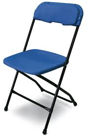USA Made - Series 5 Commercial Plastic Folding Chair By McCourt  Manufacturing