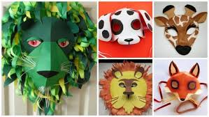 How To Make Animal Mask For Kids Simple Craft Ideas
