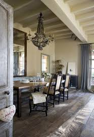 Rustic Chic Bedding Farmhouse Dining Room