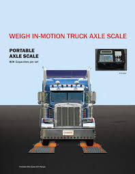100 Portable Truck Scale Weight In Motion PS80KAXLE Prime US