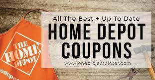 home depot coupons coupon codes 10 sales jan feb 2018