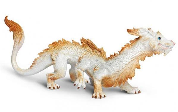 Safari Ltd Good Luck Dragon Replica Figure