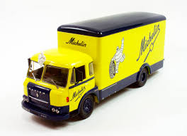 Die-cast: Ixo's 1970 Saviem JM 21/240 Michelin Truck | Savage On Wheels