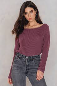 cropped knitted sweater buy online na kd