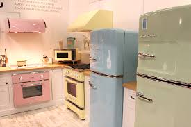 View In Gallery Architectural Digest Home Design Show 2015 Pastel Kitchen Big Chill