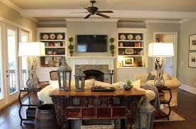 Cozy Decorating Ideas For Living Rooms Rustic Family Room French Country 800x529