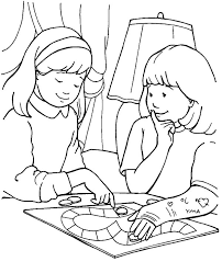 Random Acts Of Kindness Coloring Pages