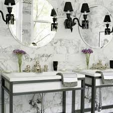 Beautiful Black-and-White Bathrooms | Traditional Home White Bathroom Design Ideas Shower For Small Spaces Grey Top Trends 2018 Latest Inspiration 20 That Make You Love It Decor 25 Incredibly Stylish Black And White Bathroom Ideas To Inspire Pictures Tips From Hgtv Better Homes Gardens Black Designs Show Simple Can Also Be Get Inspired With 35 Tile Redesign Modern Bathrooms Gray And