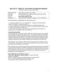Medical Assistant Cover Letter Example Best Of Resume Pertaining To Ma