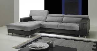 canapé d angle en cuir convertible canapé cuir tissu royal sofa idée de canapé et meuble maison