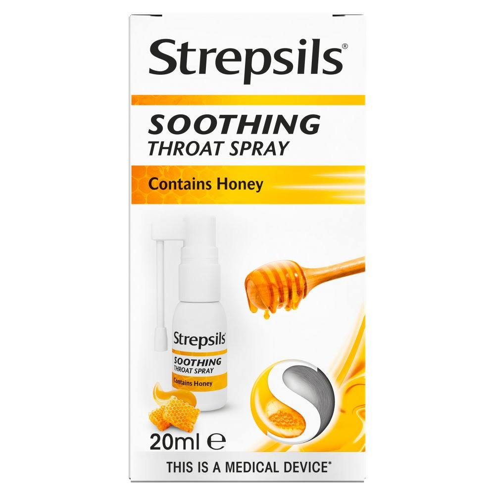 Strepsils Soothing Throat Spray - 20ml