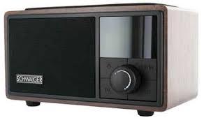 schwaiger radiowecker bluetooth ukw fm radio wecker lautsprecher aux musik box qi ladestation