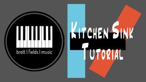 kitchen sink piano tutorial twenty one pilots youtube