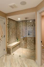 Custom Shower Remodeling And Renovation Large Shower With Custom Glass Door Large Shower Tile