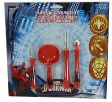 Spiderman Pumpkin Carving by Spiderman Pumpkin Carving Kit Halloween 4 Tools 6 Patterns 1 Bonus