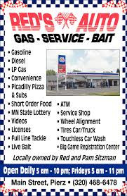 Gas, Service & Bait, RED'S AUTO, Pierz, MN Reds Auto Rehab Solution For Common Automotive Problems 20 New Models Guide 30 Cars Trucks And Suvs Coming Soon Vehicles Sale Ironwood Mi Mileti Industries Redspace Reds First Look Chris Bangle On Red Cedar Sales Williamston Used Enterprises Burlington On 4341 Harvester Rd Canpages H O Danville Va Service 2010 Finiti Qx56 Awd And Truck Auto Truck 1451 Vista View Dr Lgmont Co 80504 Buy Sell Hot Wheels 50th Anniversary Car Collection