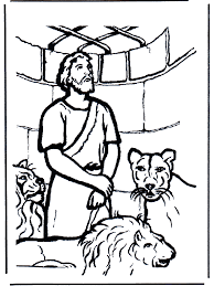Coloring Pages Online Daniel And The Lions Den Page New In Concept Desktop