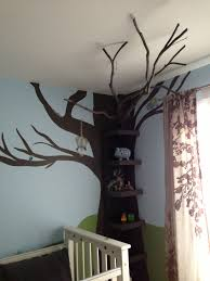 100 Tree Branch Bookshelves Destrys Nursery Tree Bookshelf With Real Tree Branch Vinyl