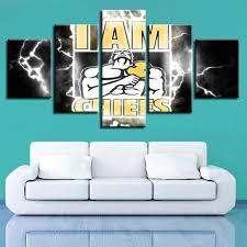 100 Pop Art Home Decor Chiefs Football Team Modern Wall Painting Prints