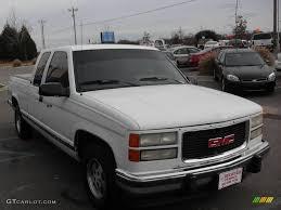 100 1994 Gmc Truck Summit White GMC Sierra 1500 SLT Extended Cab 22554459 Photo