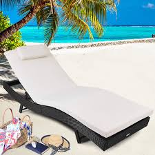 Amazon.com: Tangkula Outdoor Patio Chaise Lounge Chair Ergonomic ... Fniture Keter Chaise Lounge Chair Design Mcersfabriccom Awesome White Resin Stackable Patio Of White Lounge Chairs Relax And Soak Up The Sun With Jelly Villa Grosfillex Ct356037 Java Wicker Folding Bronze Mist Outdoor Cozy Chairs For Your Lounges And Sling Webstaurantstore Amazoncom 211045 Pacific Lounger Set Of 2 Brown Garden Avior Stacking Batyline Mesh Alinum Gem Couture Home Depot Plastic Round