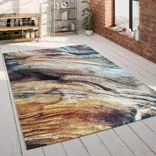 wohnzimmer teppich 3 d design robust kurzflor