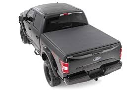 100 F 150 Truck Bed Cover Amazoncom Rough Country 44515550 Soft Triold Tonneau