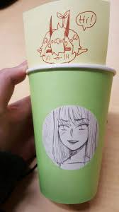 Starbucks Cup Drawing