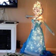 Frozen Elsa Christmas Tree